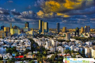 Tel Aviv Tourist Map