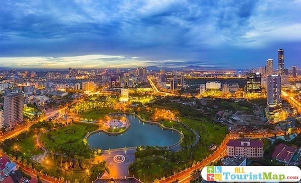 Tourist Map of Hanoi