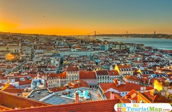 Tourist Map of Lisbon