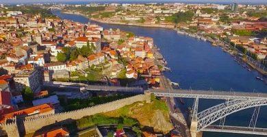 Tourist Map of Oporto