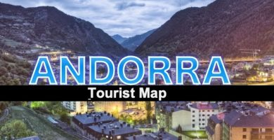 Tourist map Andorra