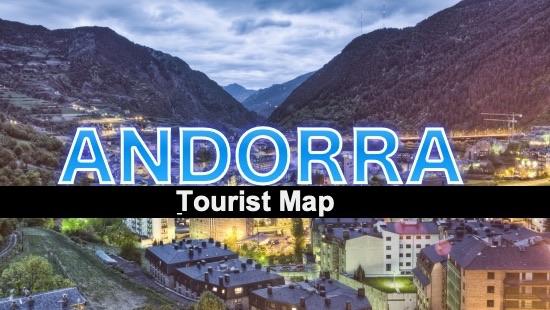Tourist map Andorra